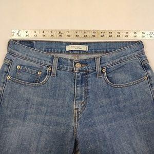 Levi's Jeans - Levis 515 Jeans Size 8 S Boot Cut Rehemmed Blue